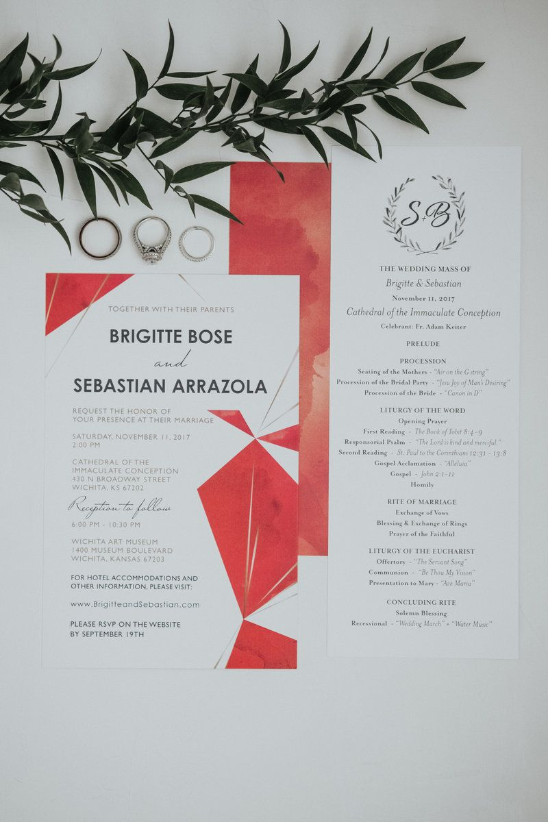 Details Gallery - Kay + Bee Wedding Photographer | coral invitations ...