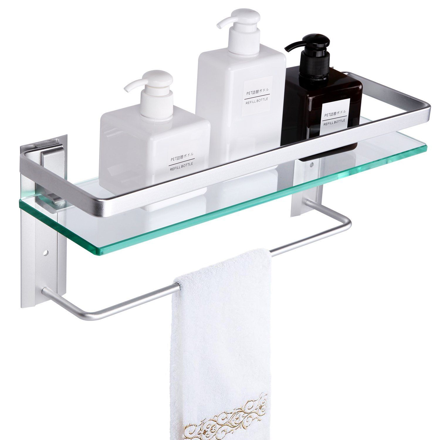 Tempered Glass Shower Shelves Glass Bathroom Shelves Glass