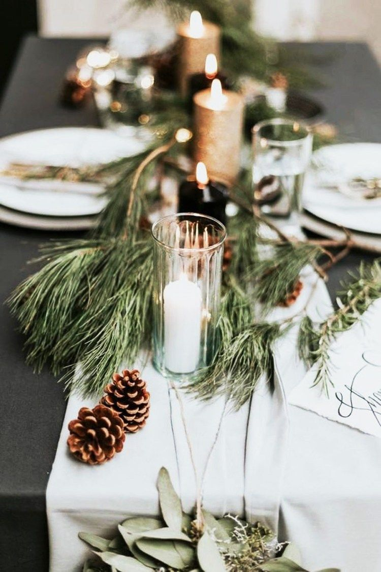 Scandinavian Holiday Decor With Images Winter Wedding Centerpieces Winter Wedding Table Scandinavian Holiday Decor