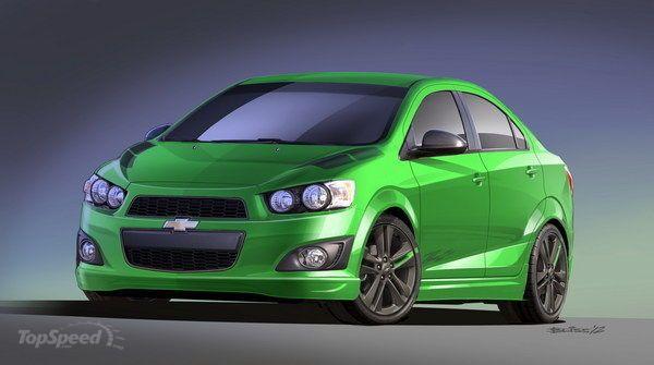 2012 Chevrolet Sonic Z Spec 1 Concept