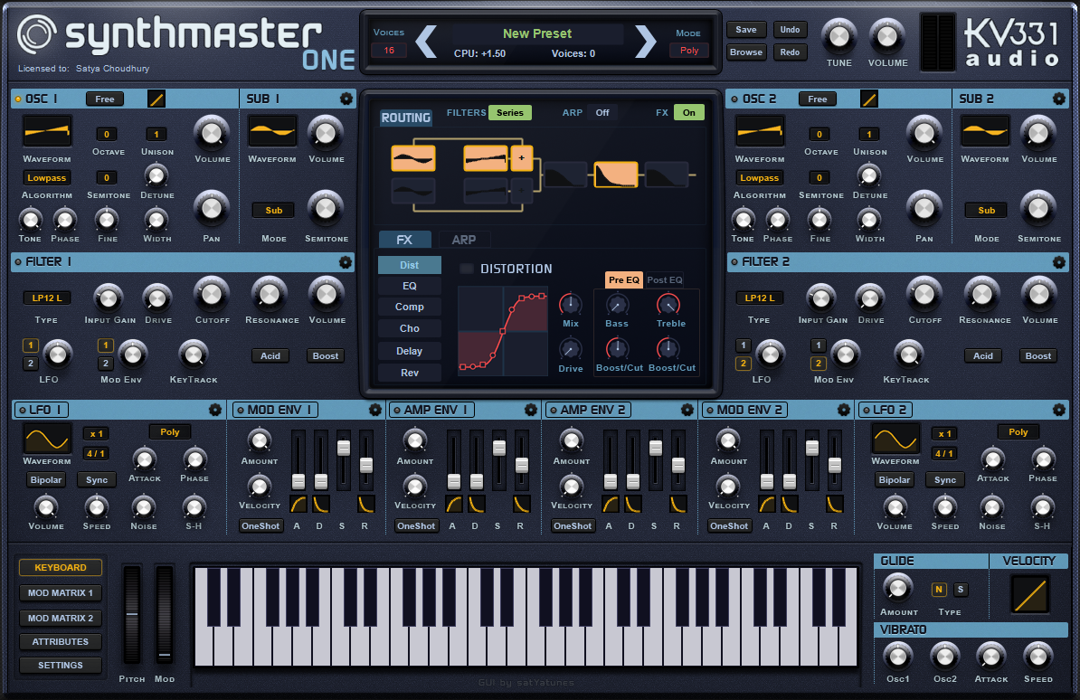 Synthmaster One Produccion Musical Formacion Musical Musical