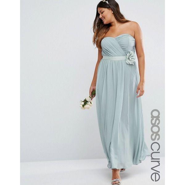 Wedding-Maxikleid Asos Curve (mit Bildern) | Hübsche ...