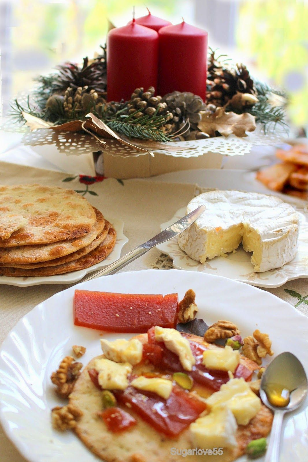 Sugarlove55: Tortas artesanas de aceite de oliva con queso, mem...