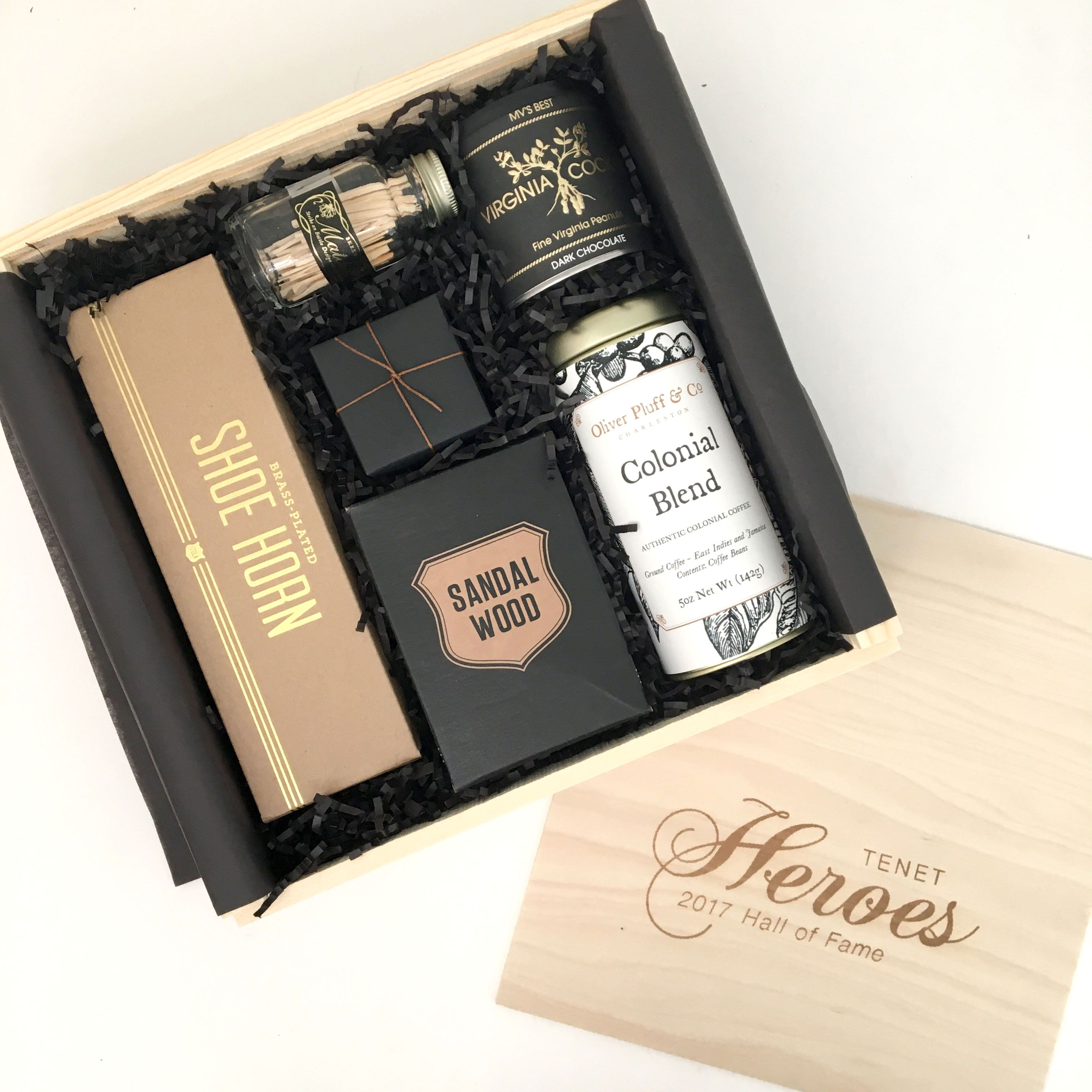 Corporate Holiday Event Gift Client Gifting Curated Gift Box For