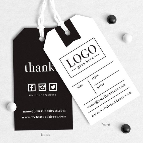 Product Tags Design, Custom Textile Tags, Care
