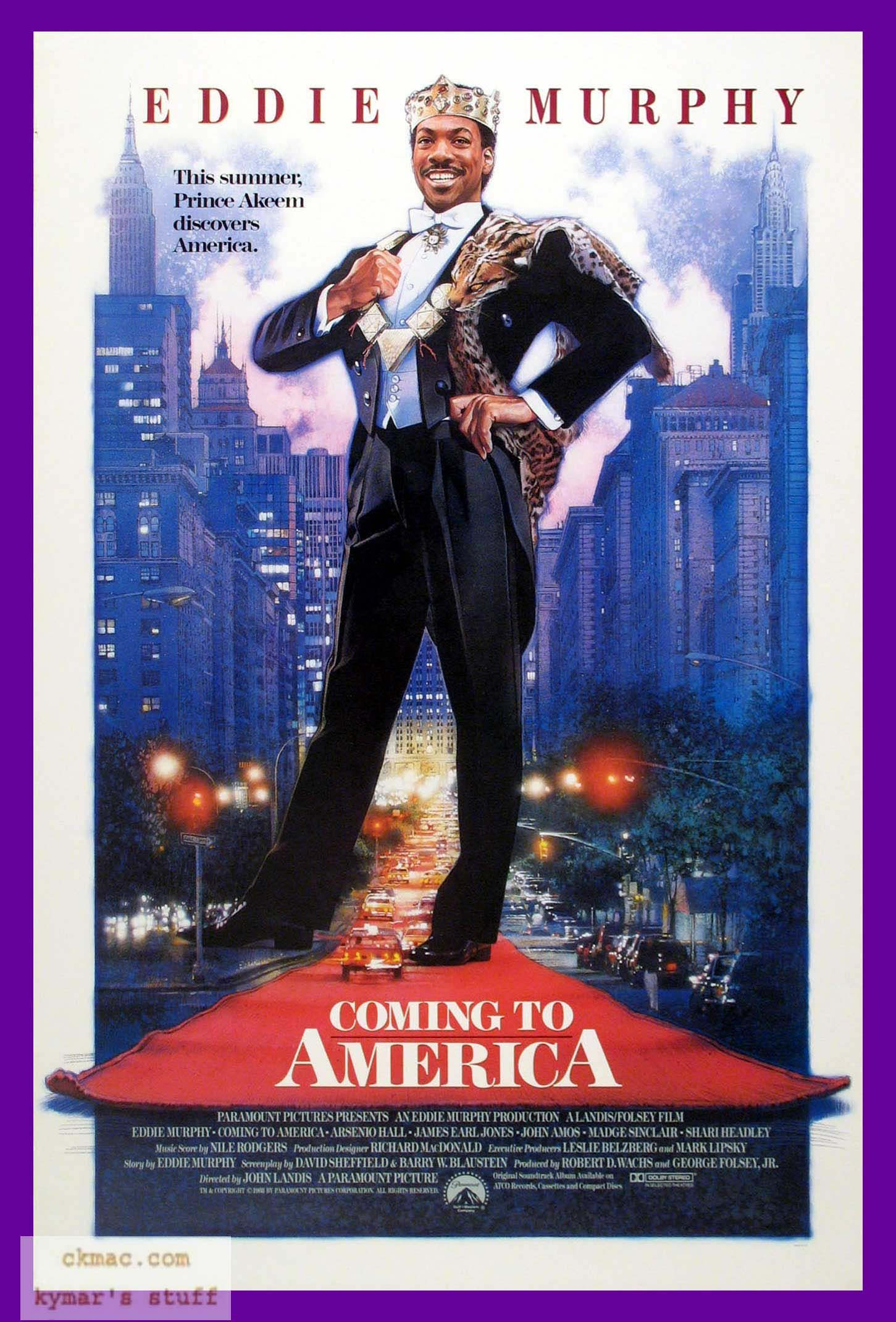 Coming to America (by Drew) | Eddie murphy movies, Classic ...