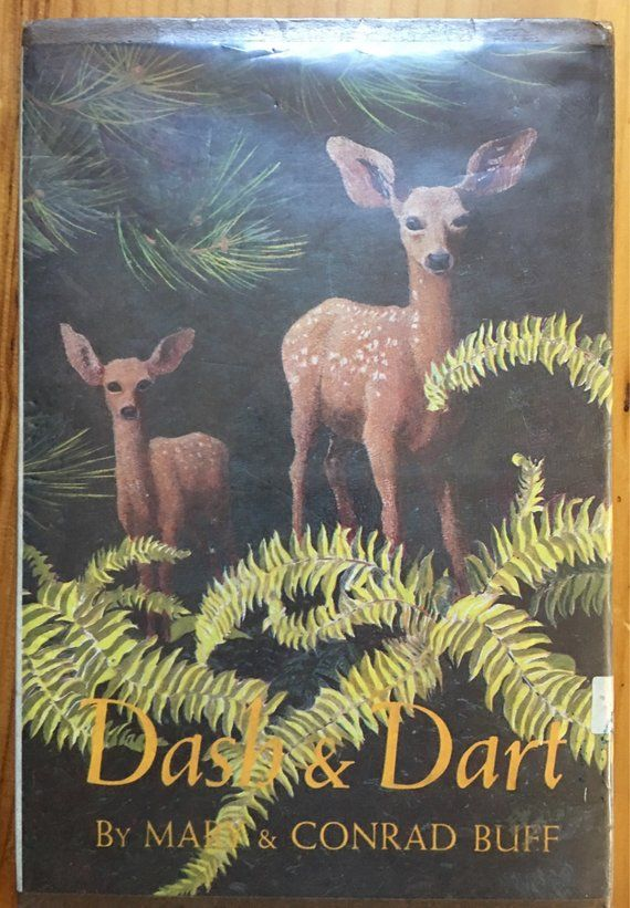 Dash and Dart, Two Fawns, by Mary and Conrad Buff, the