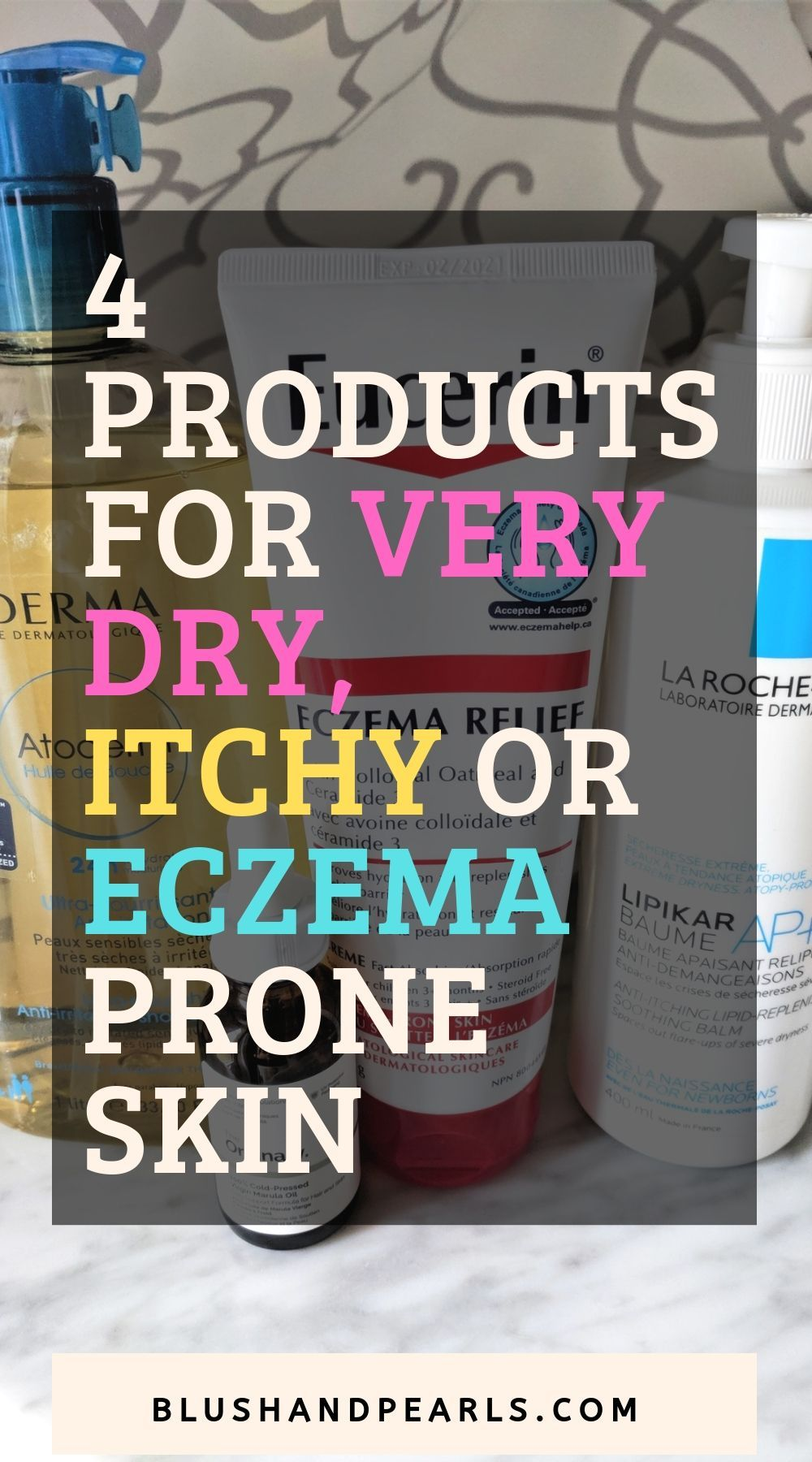 4 Products For Very Dry, Itchy or Eczema Prone Skin