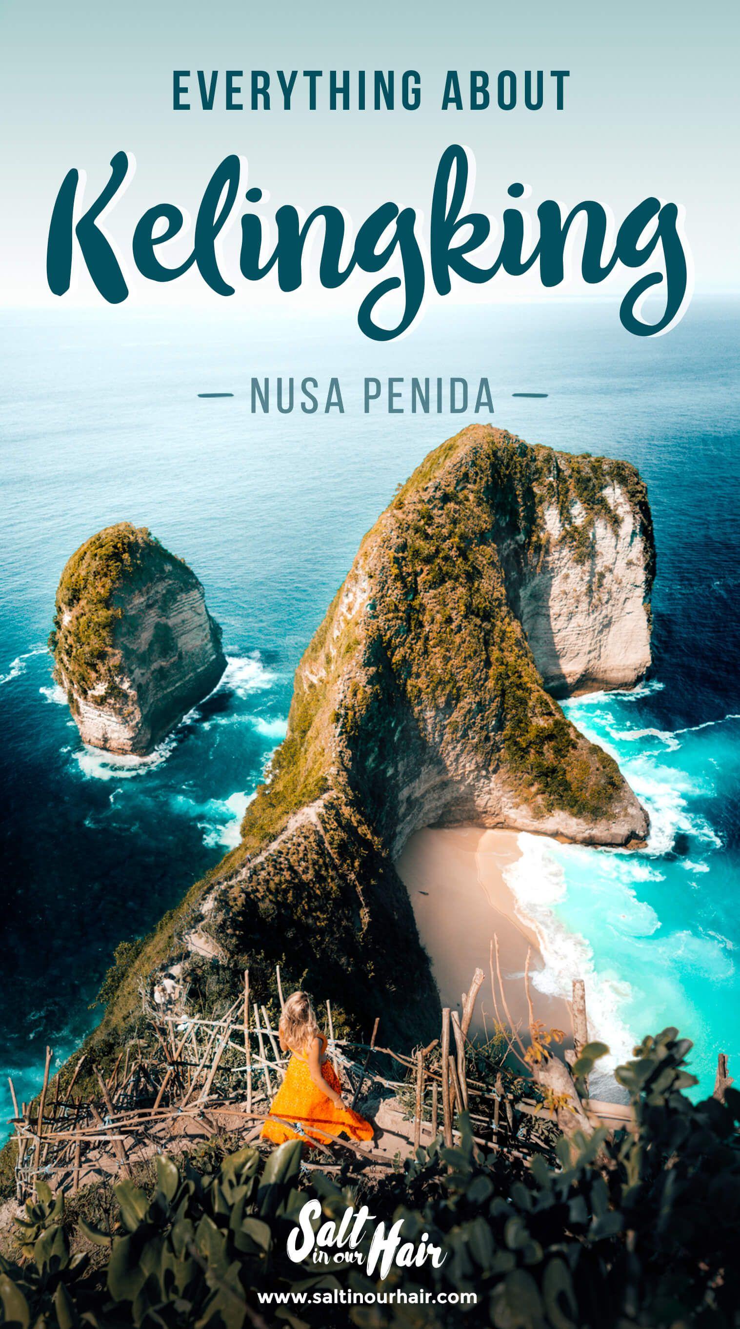 Kelingking on Nusa Penida – Everything you need to know  #kelingking #nusapenida  Kelingking Beach | Nusa Penida | Bali | Bali Beach | viewpoint
