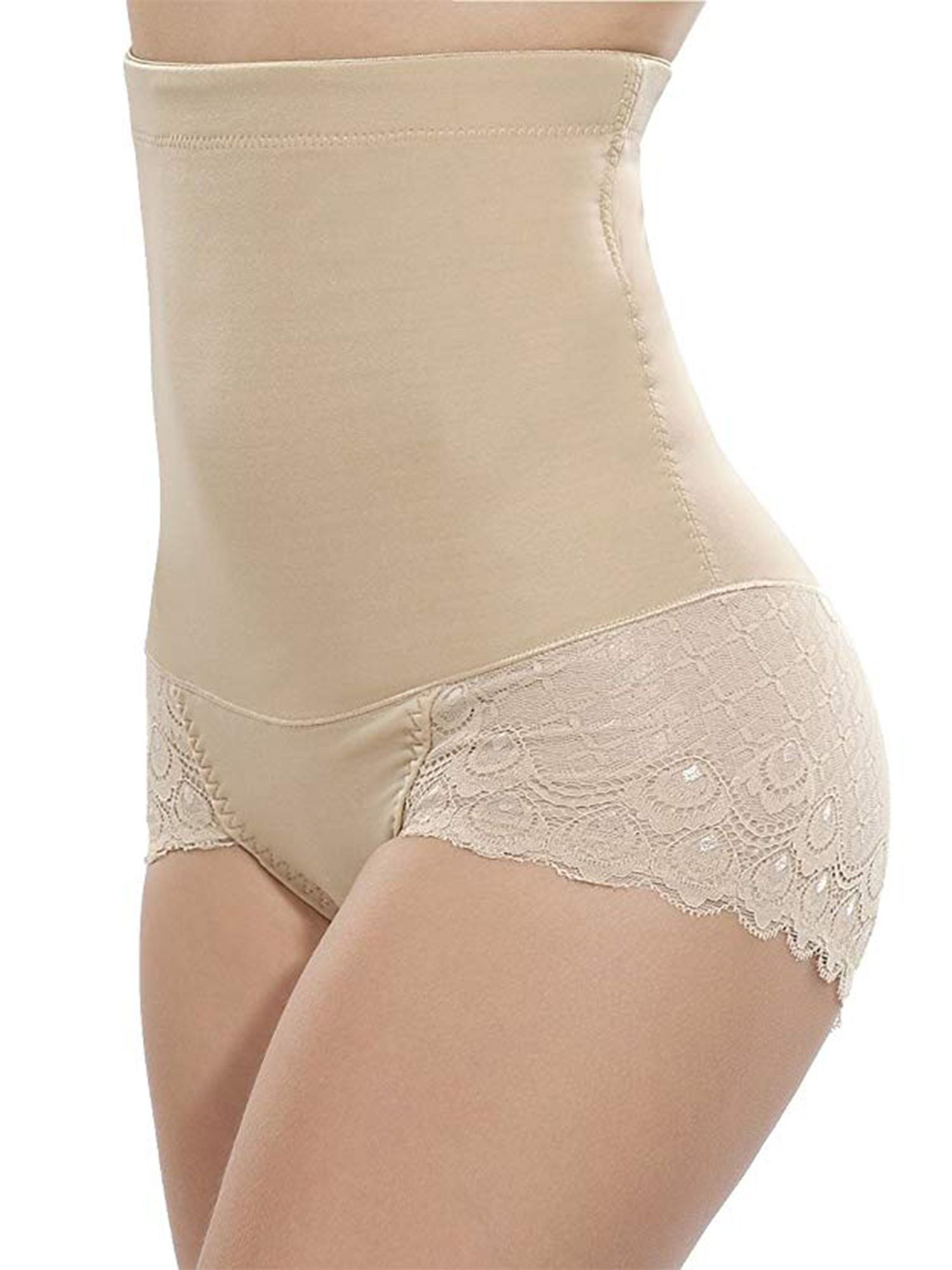 c97c7c0f16 High Waist Slimming Shaping Panty Waist Trainer Sexy Lace Panties Butt Lift Body  Shaper Underwear Lingerie