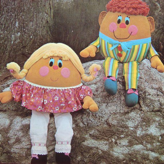 vintage HUMPTY & HENRIETTA DUMPTY sewing pattern from Bekabeka75 ...