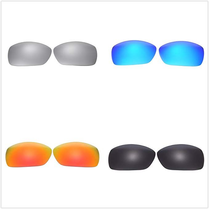 5ca11bd67c Set of 4 Polarized Replacement Lenses for Oakley Hijinx Sunglasses NicelyFit  Review