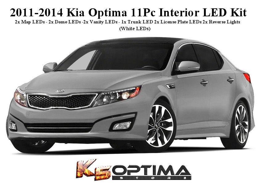 2011 2019 Kia Optima Interior Led Kit Kia Optima Kia Optima Interior Optima Car