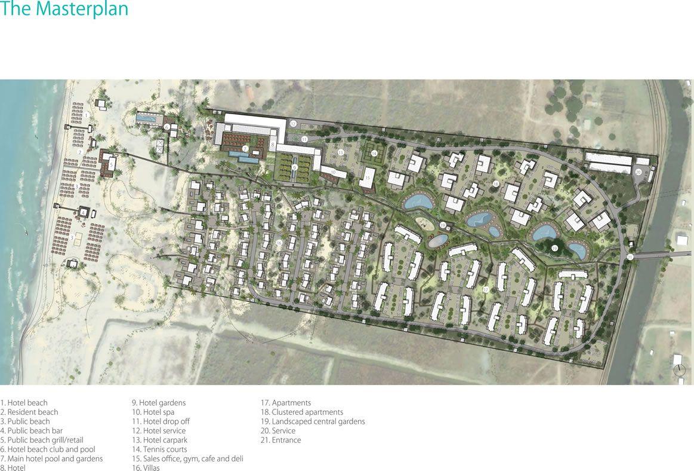 Masterplan | Lalzit Bay Resort & Spa, Durres, Albania | resort ...