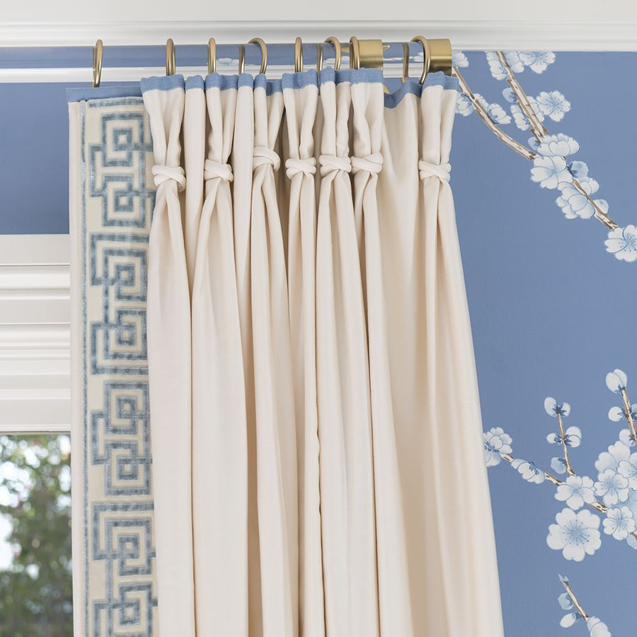 White Wooden Curtain Rod Rings