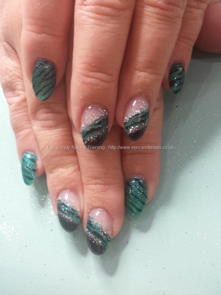 Jades a gem with zebra stripe nail art | Nails | Pinterest | Zebra ...