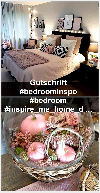 Gutschrift #bedroominspo #bedroom #inspire_me_home_decor #interiordesign #inter - Home,  #Bedroom #bedroominspo #Gutschrift #Home #inspiremehomedecor #inter #interiordesign