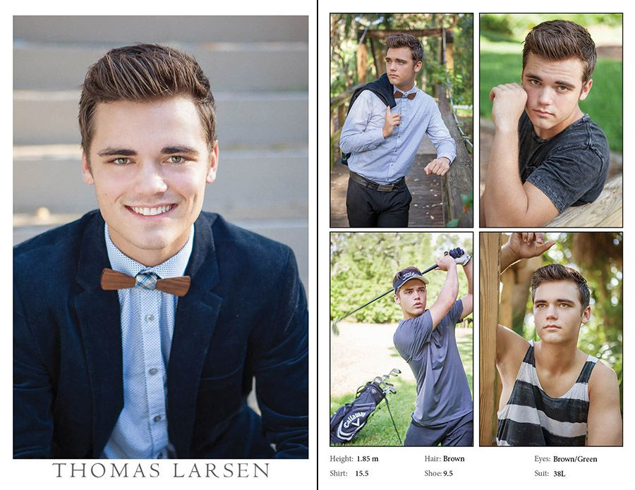 Modeling, Comp Cards for men and women