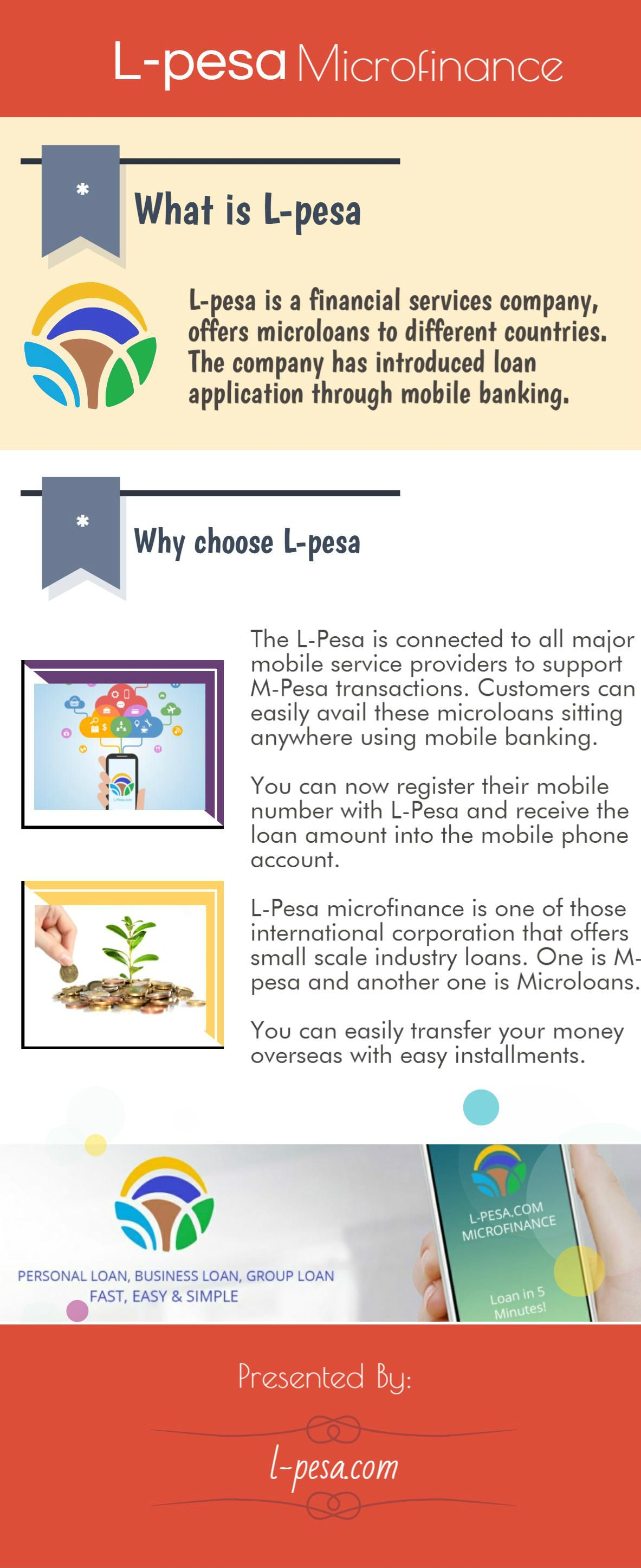 L Pesa Is A Well Known Financial Services Company Engaged In Providing Microloans M Pesa And Micro Loans Are The Two Pr Mobile Banking Financial Services Loan
