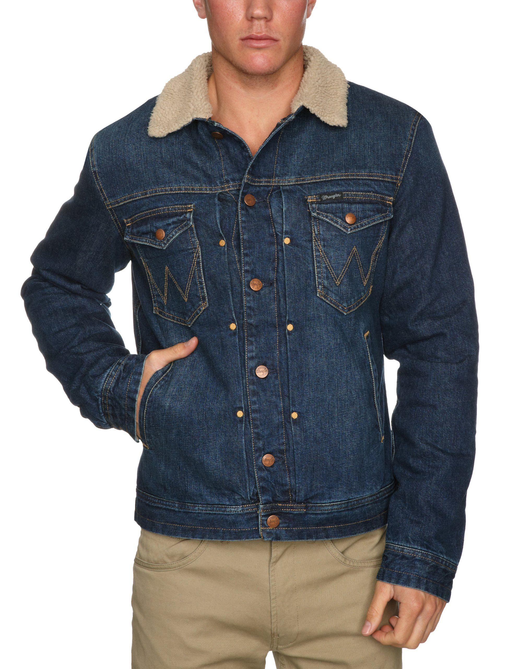 Wrangler Men S Sherpa Denim Long Sleeve Jacket Amazon Co Uk Clothing Carhartt Mens Jacket Carhartt Jacket Mens Sherpa Jacket [ 2560 x 1969 Pixel ]