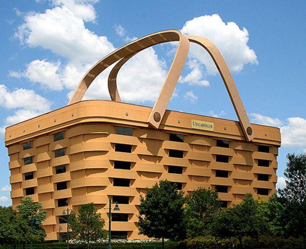 The Basket Building, Zanesville, Ohio