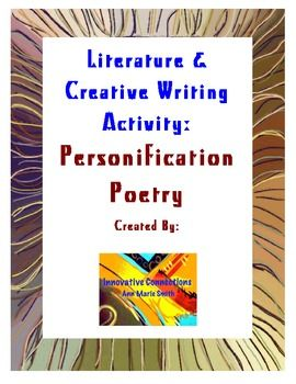 Personification Poetry Creative Writing Activity And Rubric A
