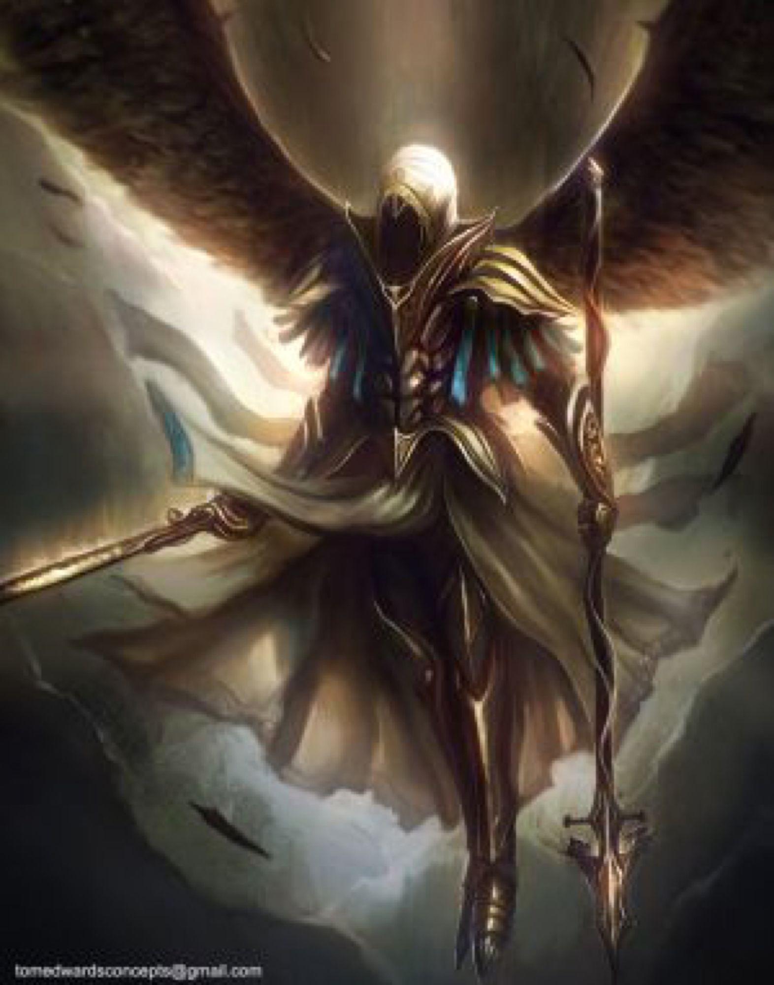 archangel by tomedwardsconcepts on deviantart epic pics in 2018
