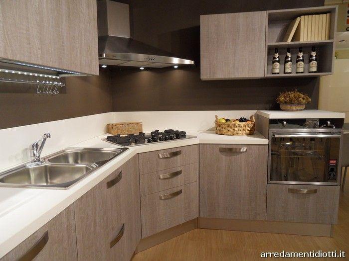 Cucina moderna angolare Grafica tranch ghiro  DIOTTI AF Arredamenti  cucine nel 2019
