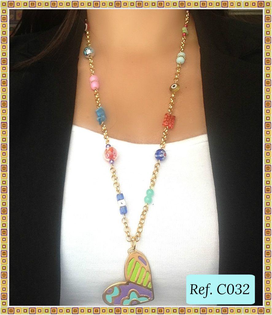 gran variedad de estilos 2019 mejor venta auténtico Collar Largo de Moda Britto www.brownikaaccesorios.com ...