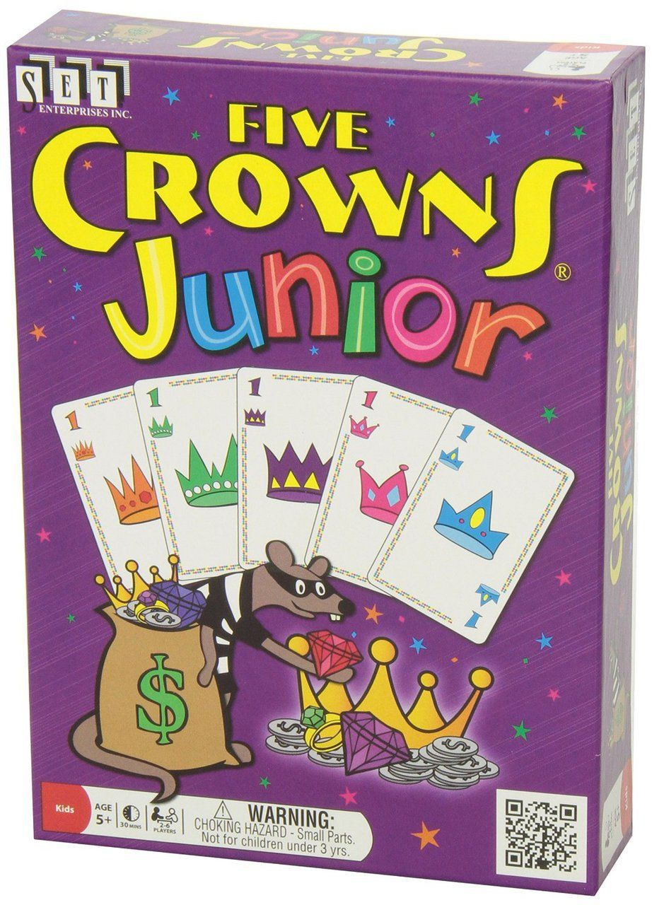 Five crowns junior in 2020 card games set card game