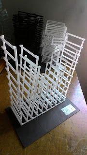 Cara Membuat Nirmana Trimatra (3D) dengan Media Sedotan | akigalih