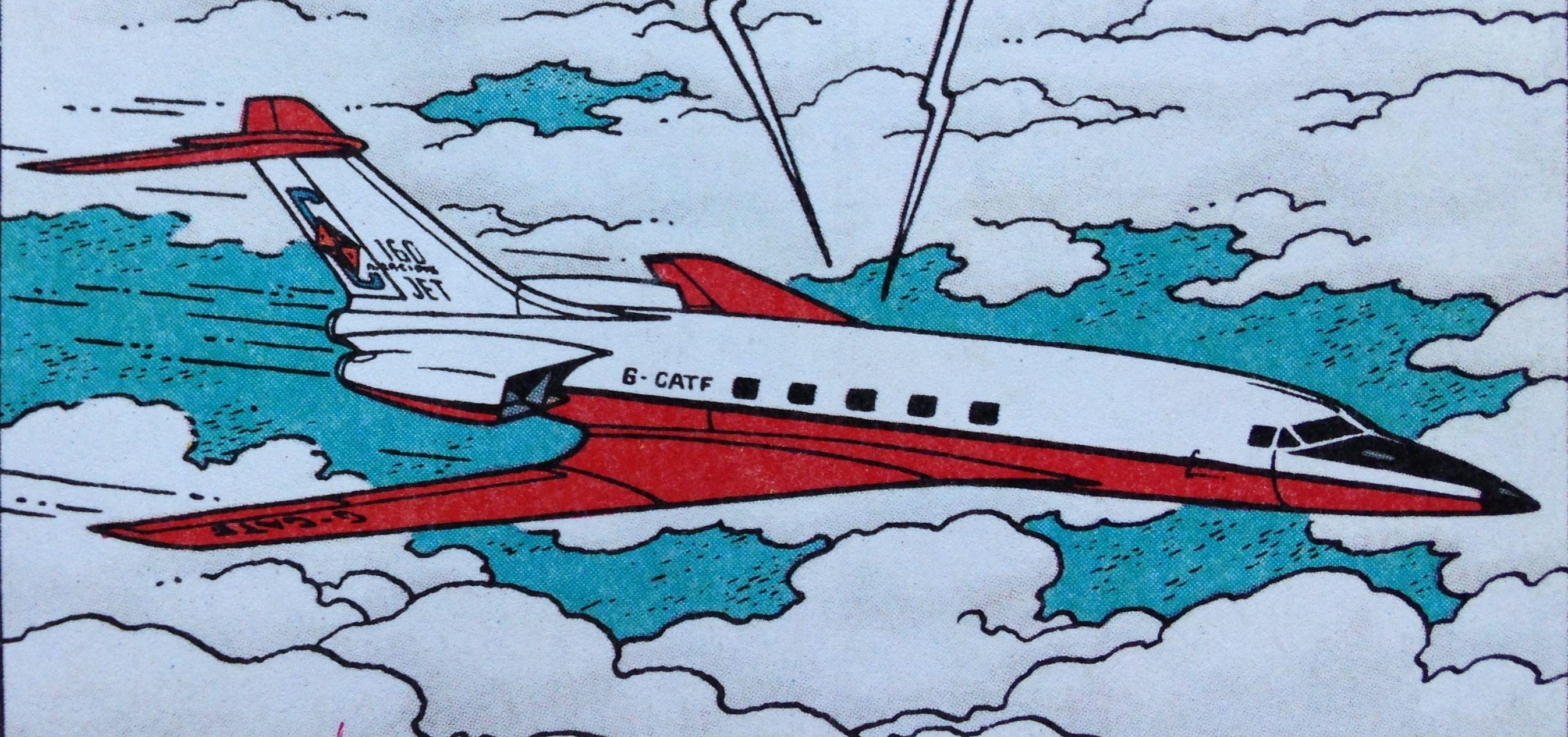 """Vuelo 714 para Sidney - Birreactor """"Carreidas 160"""""""