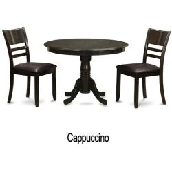 3-piece Kitchen Nook Dining Table and 2 Dinette Chairs