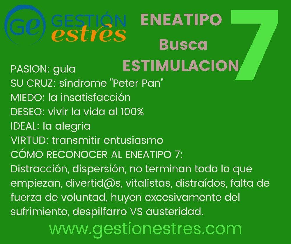 Eneatipo 7 Eneagrama Emocional Numerología