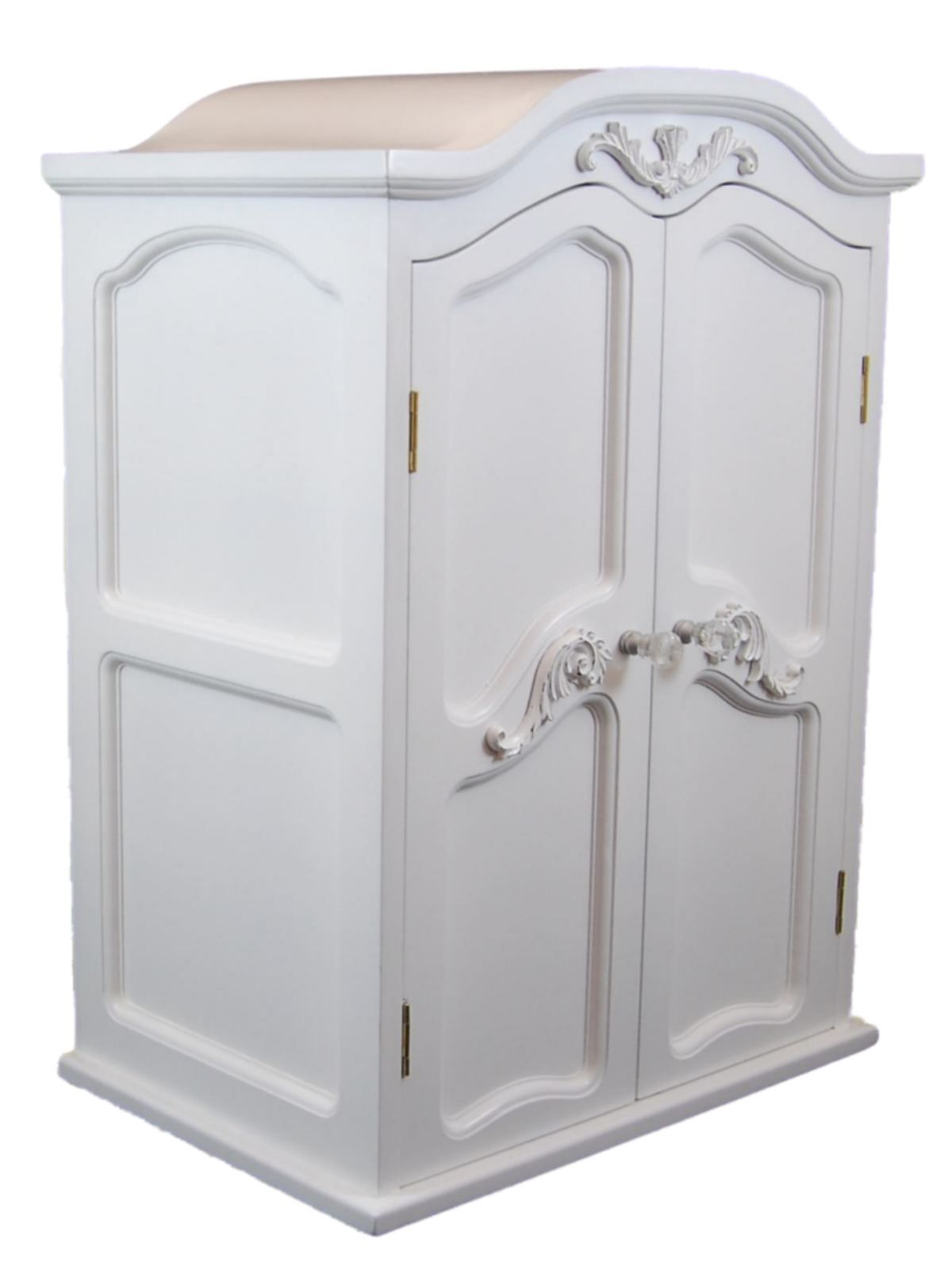 """Victorian Wardrobe Armoire Trunk Furniture For 18"""" Girl Doll"""