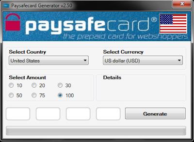 generateur paysafecard