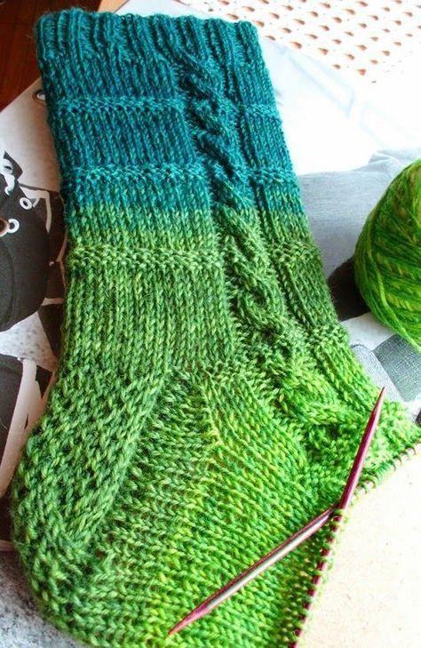 Pin von Petra Thomas auf socken | Pinterest | Stricken, Socken ...