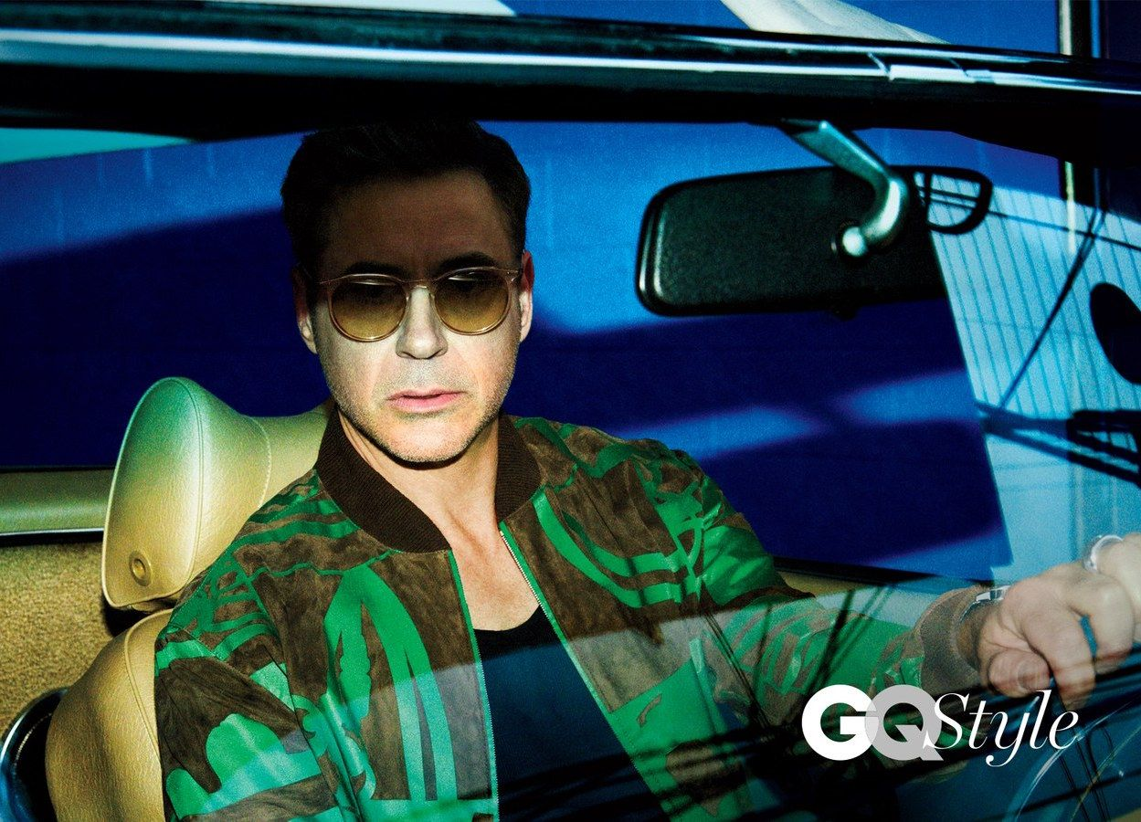 Robert Downey Jr. Stars In GQ Style Debut Issue In An Hermes Bomber Jacket | UpscaleHype