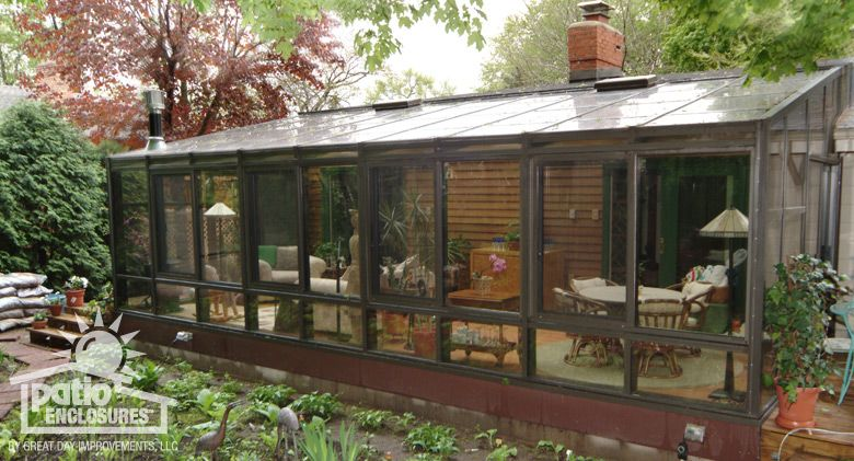 Straight Eave Solarium By Patio Enclosures