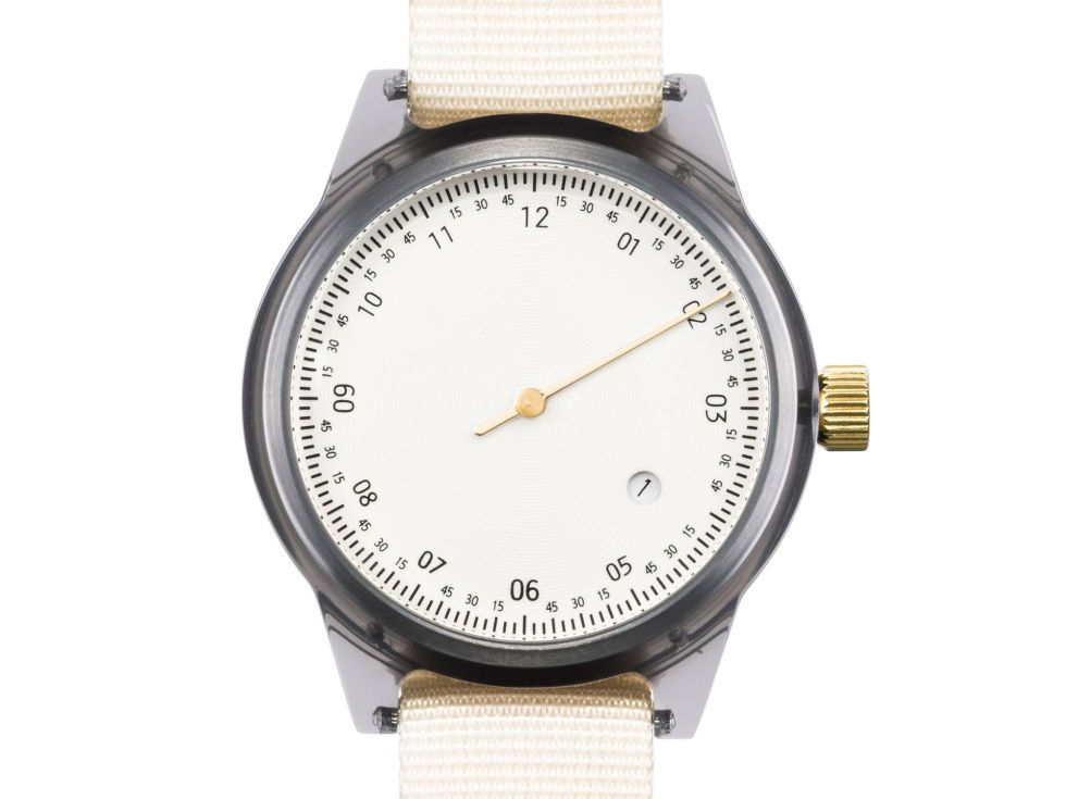The unusual hour and minute marker designs on these Scandinavian-influenced Hong Kong watches allow for a clean and minimal face that means this watch goes with anything.£120, Available exclusively at Twisted Time