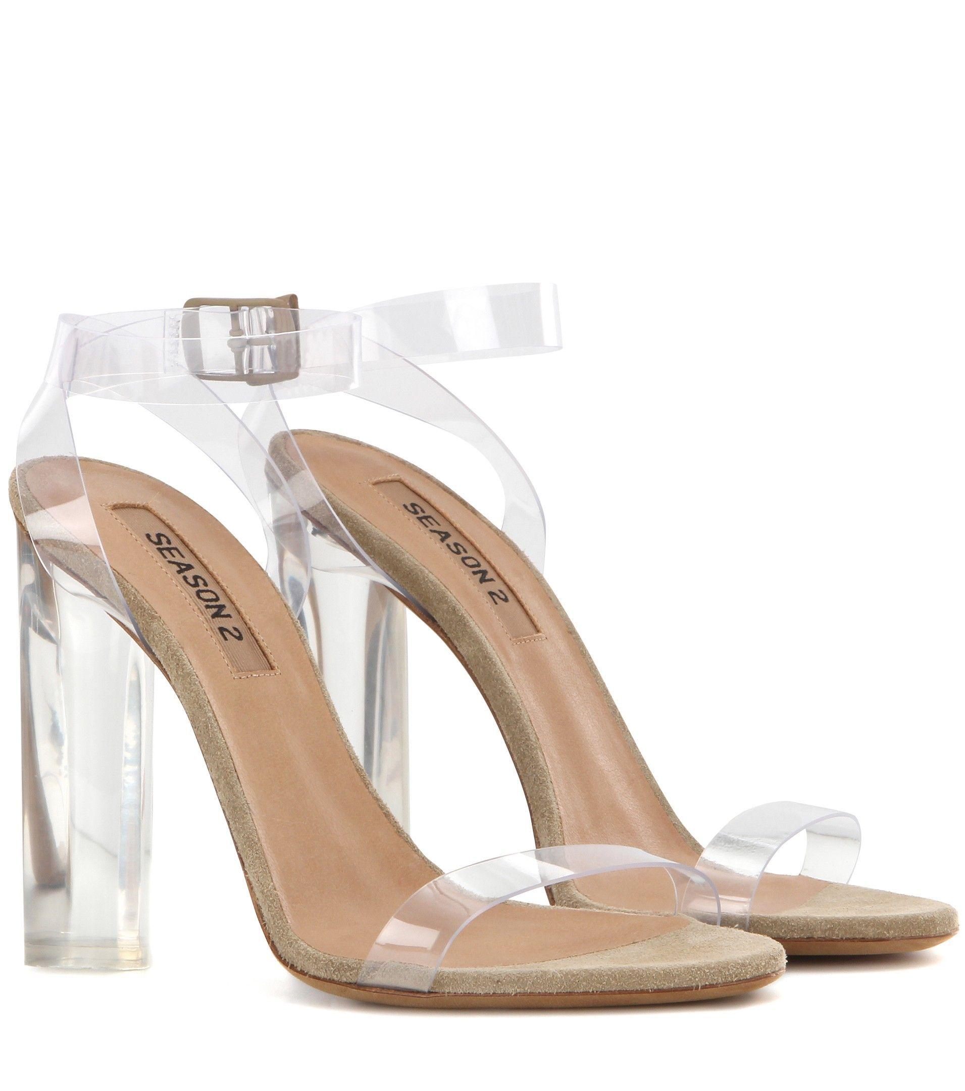 Fashion store on | Weiße absatzschuhe, Sandalen mit absatz