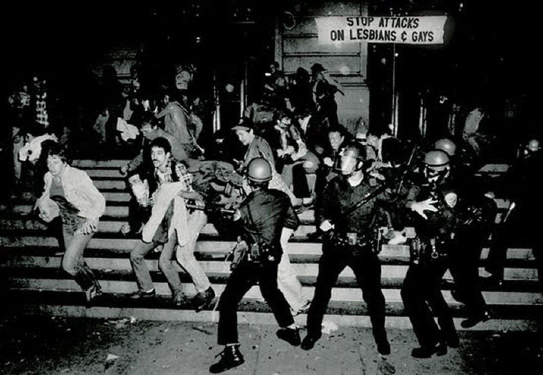 Stonewall Riots schwarz weiß blackandwhite