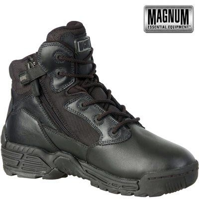 HI-TEC - Magnum Stealth Force 6.0 SZ Side Zip Boots Stiefel schwarz - http