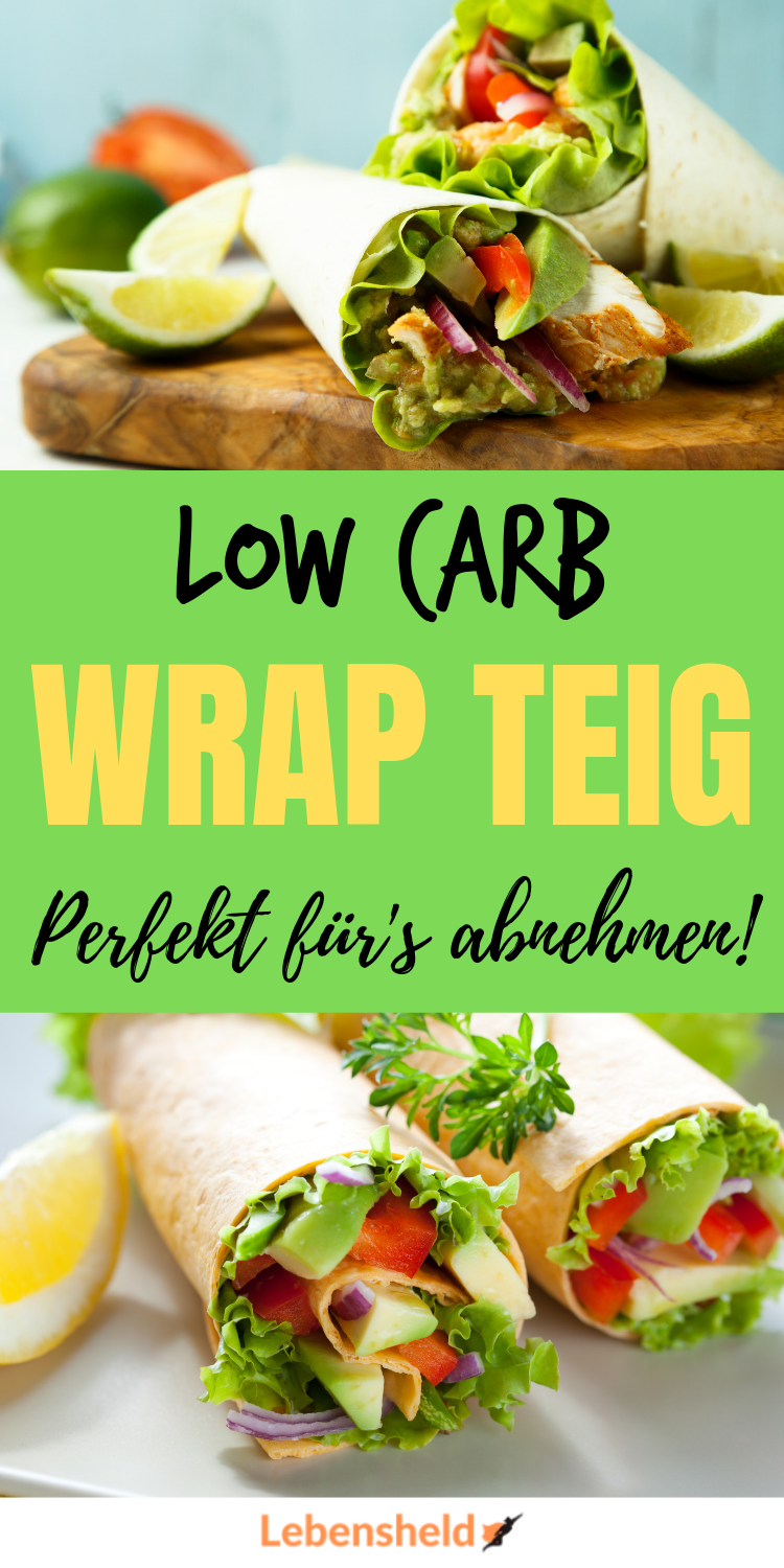 Photo of Low carb Wrap Teig – Super lecker und schnell – Low Carb Held