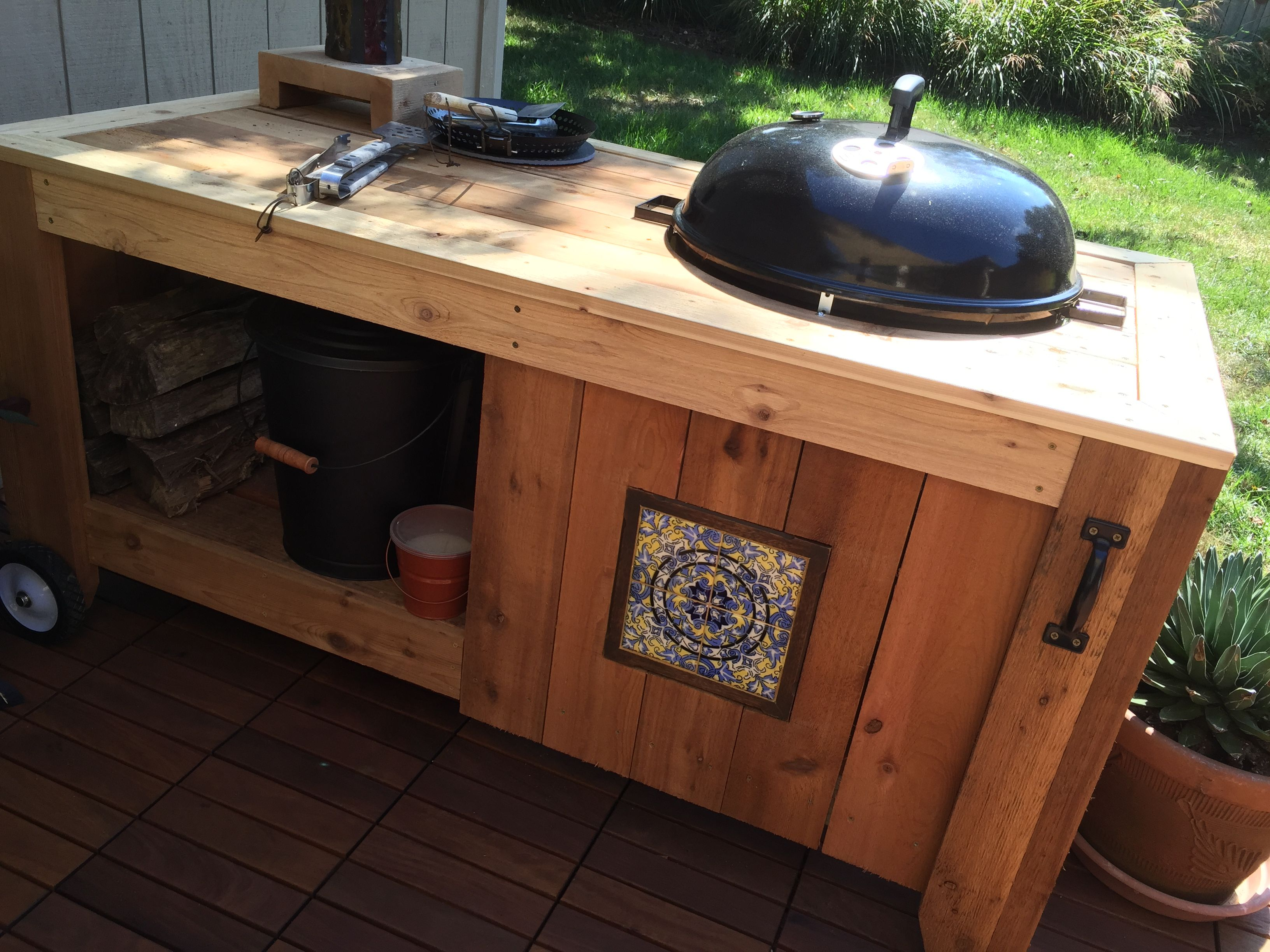 Weber Grill Table Outdoor Kitchen Grill Table Backyard Grilling
