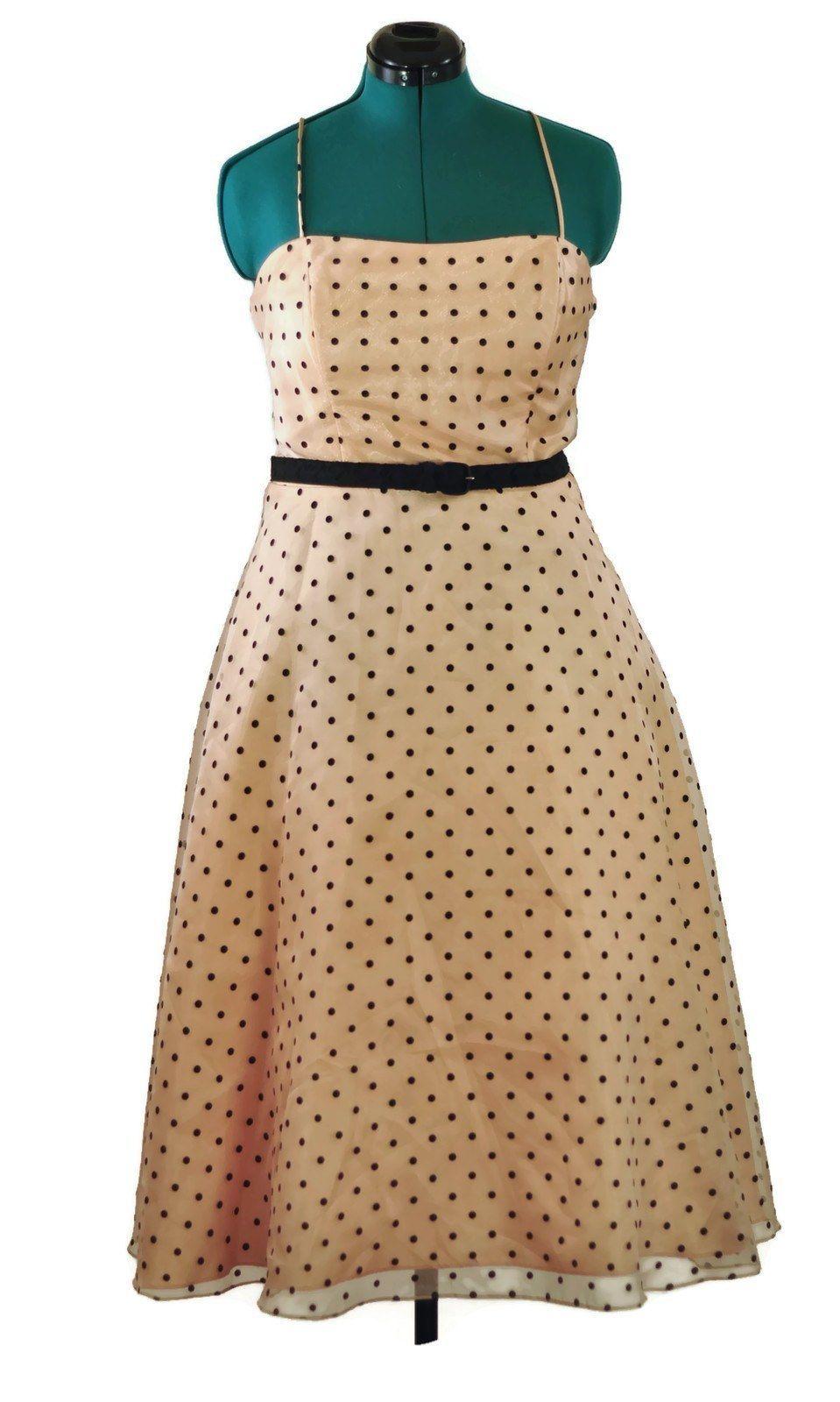 American Rockabilly Peach Puff Vintage Prom Dress Prom Dresses Vintage Peach Prom Dresses Dresses