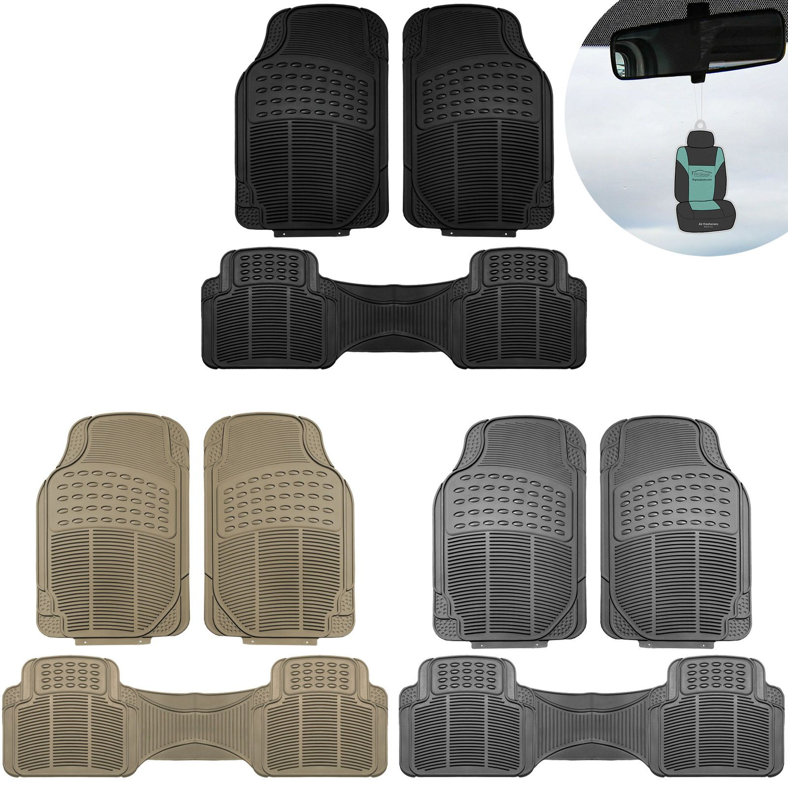 Details about 3pc Floor Mats for Auto Car SUV Van Heavy