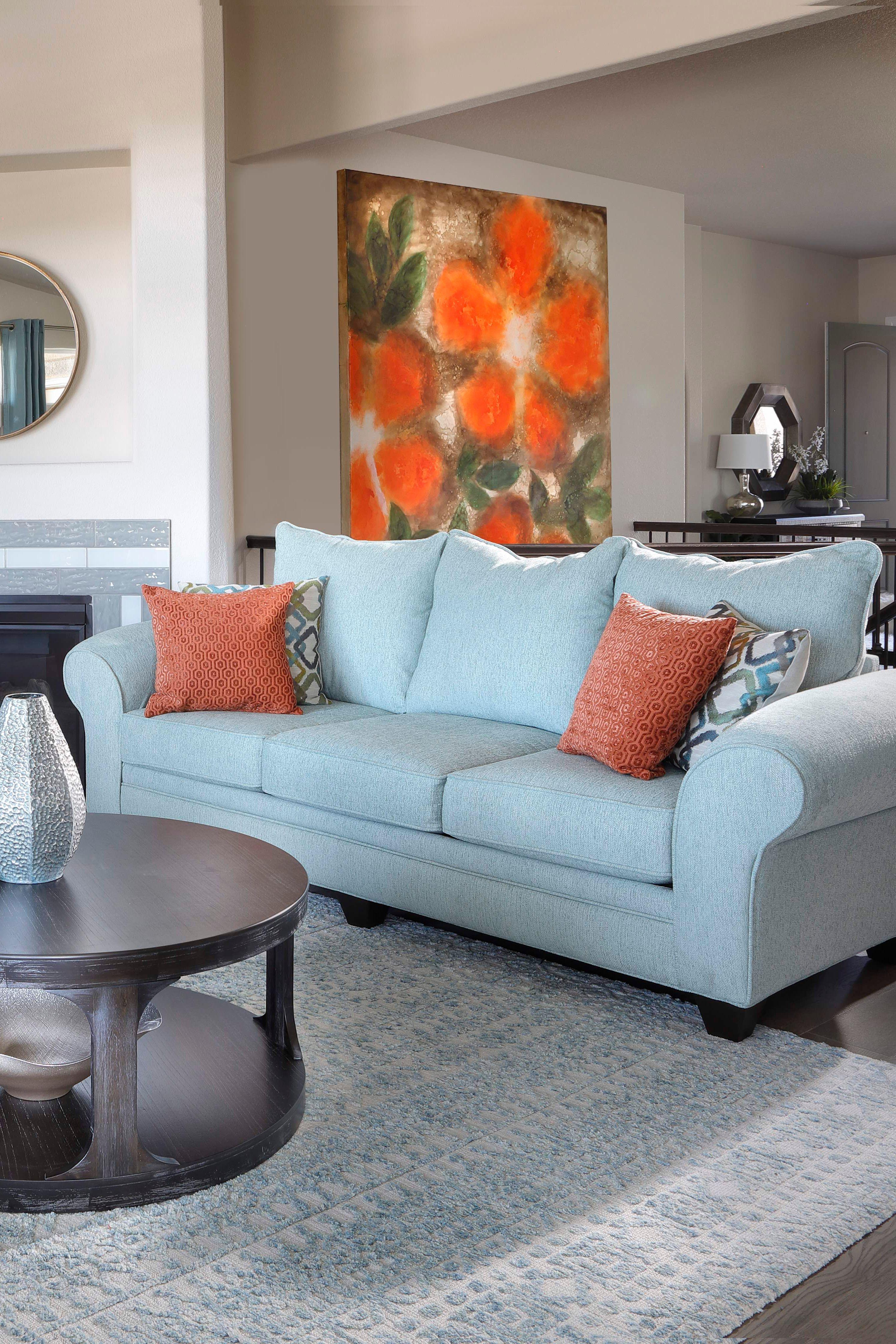 Skylar Sofa Living Room Orange Burgundy Living Room Teal And Orange Living Room Decor