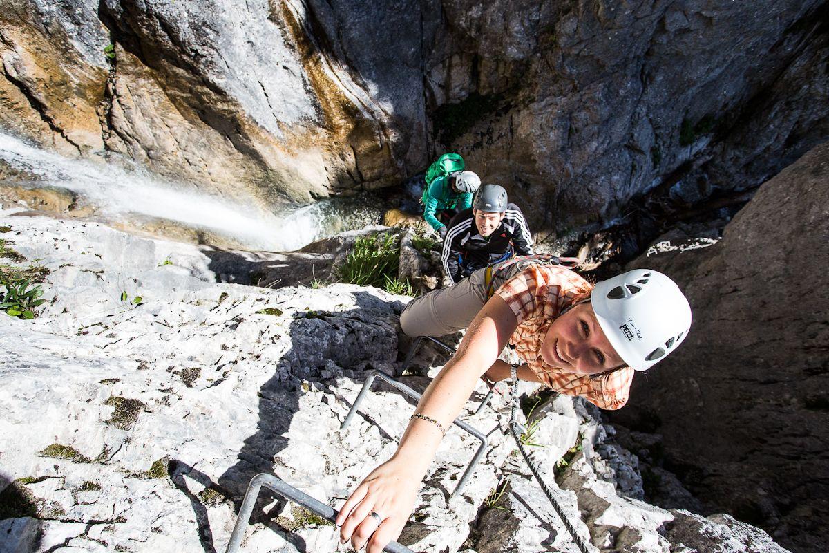 Klettersteig Vorarlberg : Viele überschätzen sich auf klettersteigen kaernten orf at