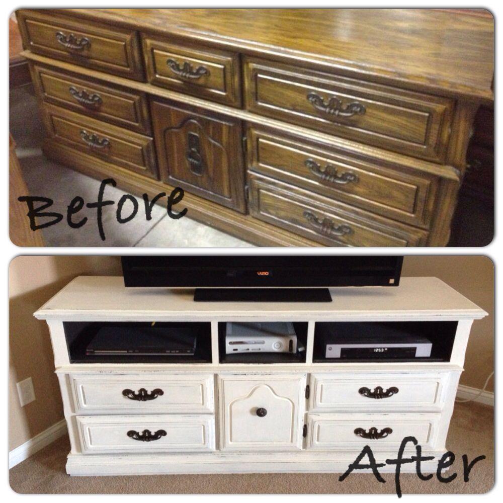 DIY dresser makeover | Dream home | Pinterest